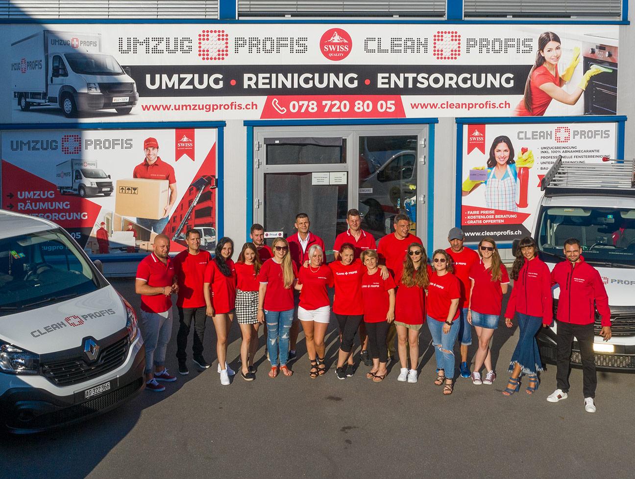 Umzug und Cleanprofis Team